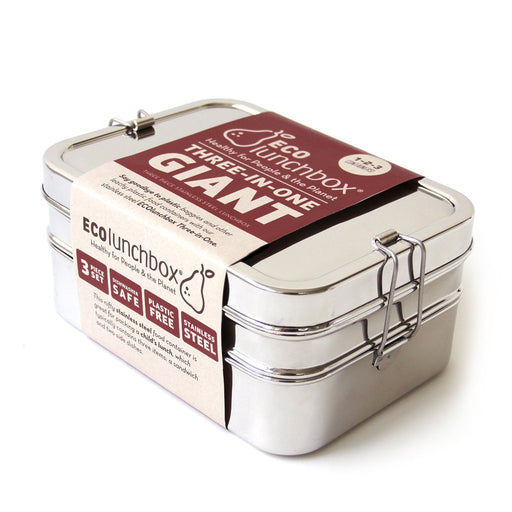 Reusable Stainless Steel Three in One Classic Box, Min. Order (Pack of 10 pieces)