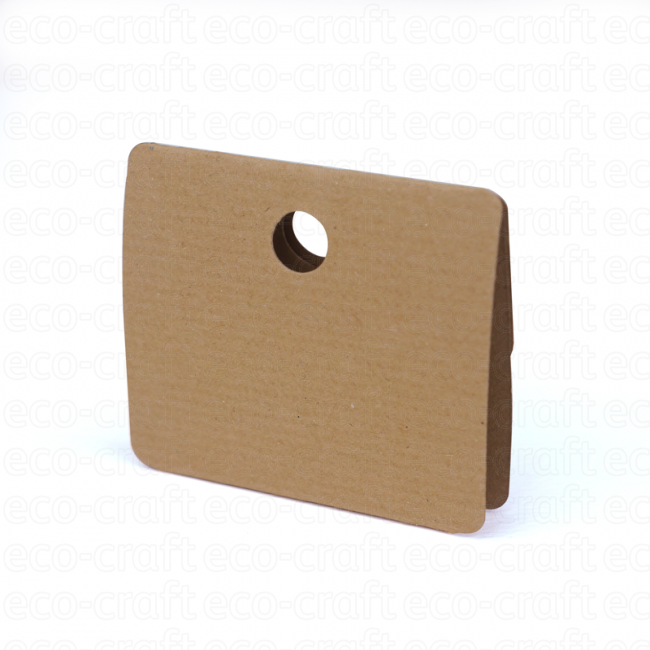 100% Recycled Jewellery Hangers (55mm), Min. Order (Pack of 10 pieces)