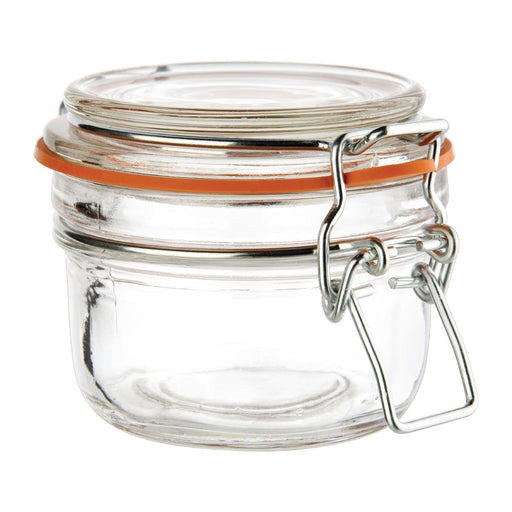 Reusable Glass Vogue Preserve Jars, Min. Order (Pack of 10 pieces)