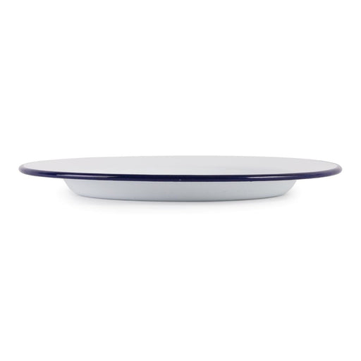 Reusable Enamel Stainless Steel Olympia Dinner Plates, Min. Order (Pack of 10 pieces)