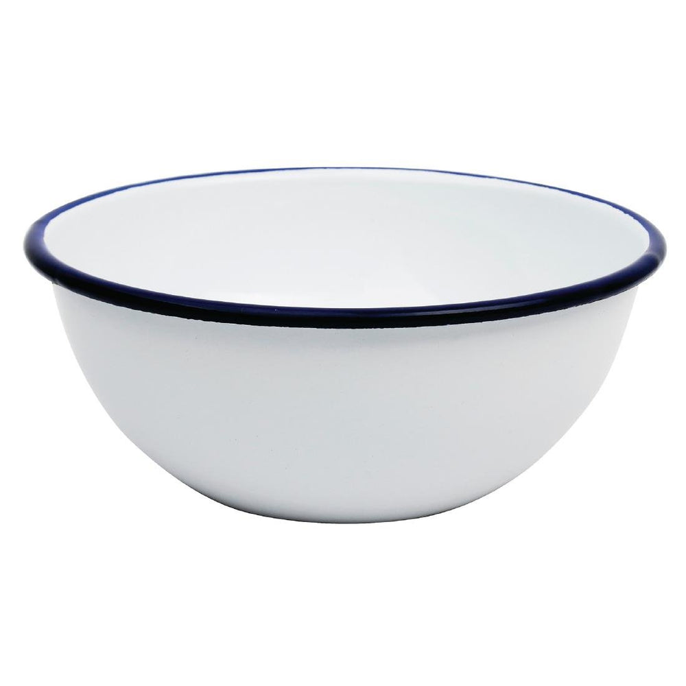 Reusable Enamel Stainless Steel Olympia Bowls 155mm, Min. Order (Pack of 10 pieces)