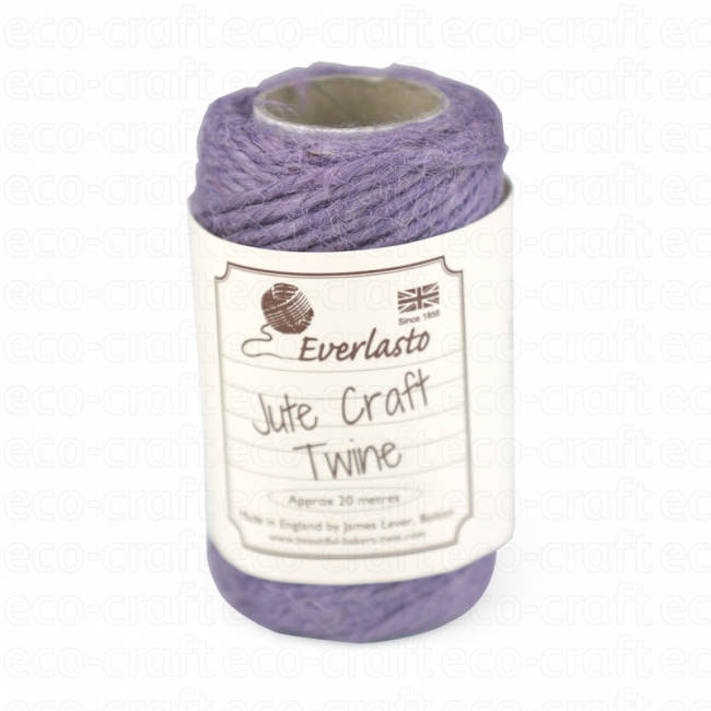 100% Jute Twines 20m, Min. Order (Pack of 10 pieces)
