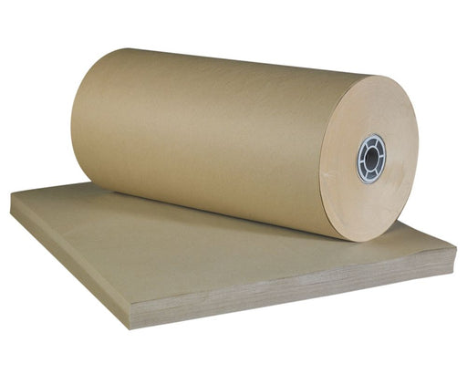 100% Recycled Brown Imitation Kraft Paper Sheets 900x1150mm (L x W x H) / 125 sheets per piece - The sustainable sourcing company