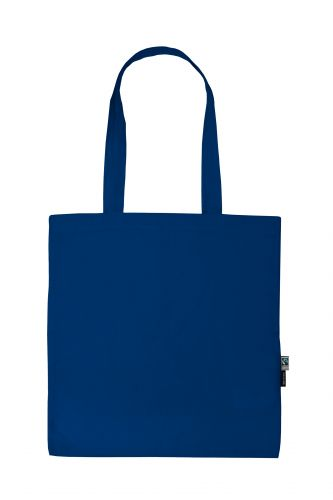 100% Organic Cotton Shopping Bag with Long Handles, Min. Order (Pack of 10 pieces)