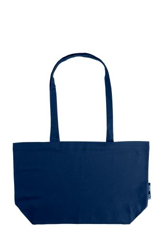 100% Organic Cotton Shopping Bag with Gusset, Min. Order (Pack of 10 pieces)
