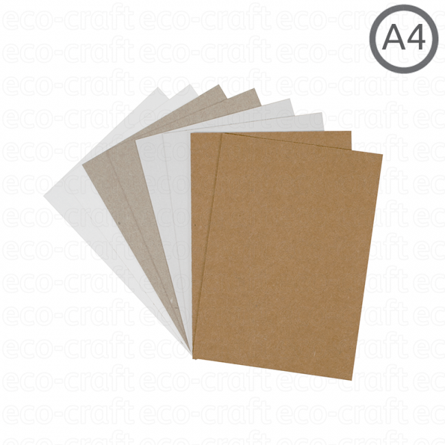 100% Recycled Tick Cards, Min. Order (Pack of 10 pieces)