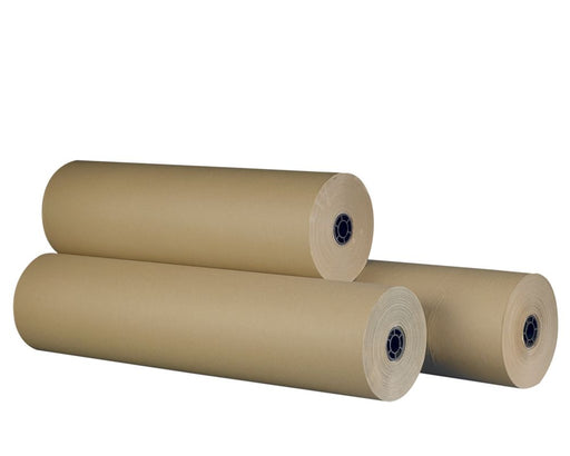 100% Recycled Brown Imitation Kraft Paper Rolls 200m - The sustainable sourcing company