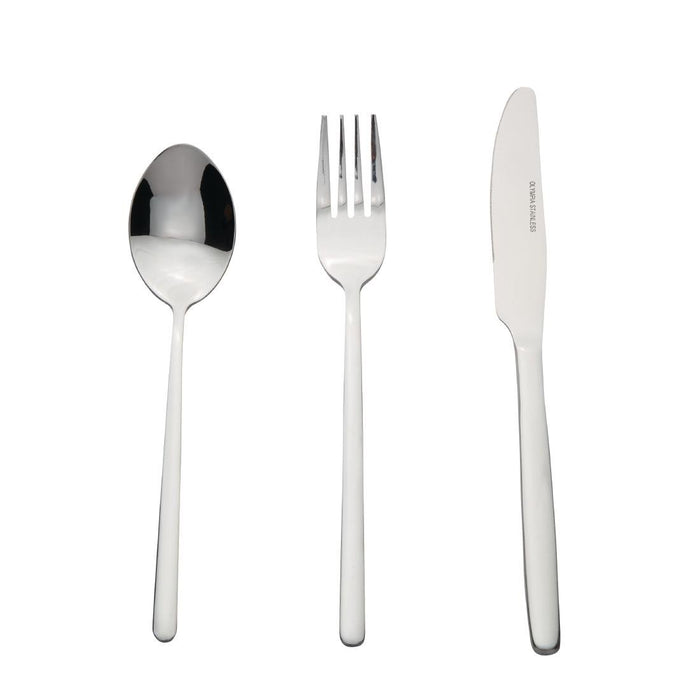 Reusable Stainless Steel Olympia Henley Cutlery Sample Set Pack of 3, Min. Order (Pack of 10 pieces)