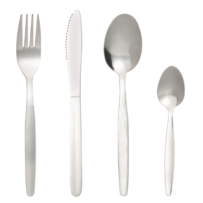 Reusable Stainless Steel Olympia Kelso Cutlery Set Pack of 48, Min. Order (Pack of 10 pieces)