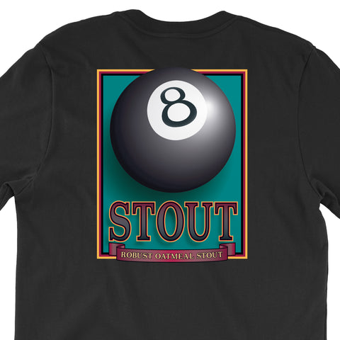 Eight-ball T-Shirts <P> (Three Colors)
