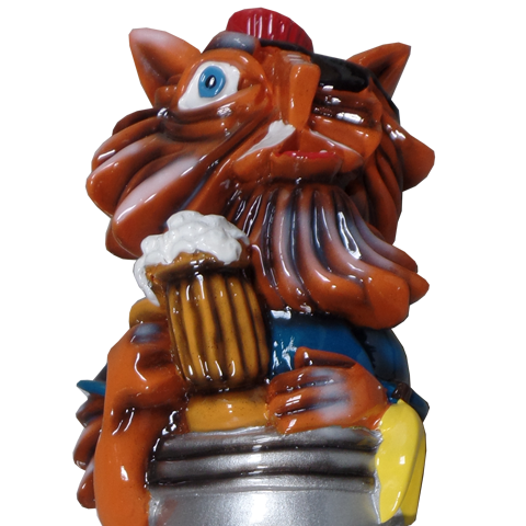 Alleycat Amber Tap Handle