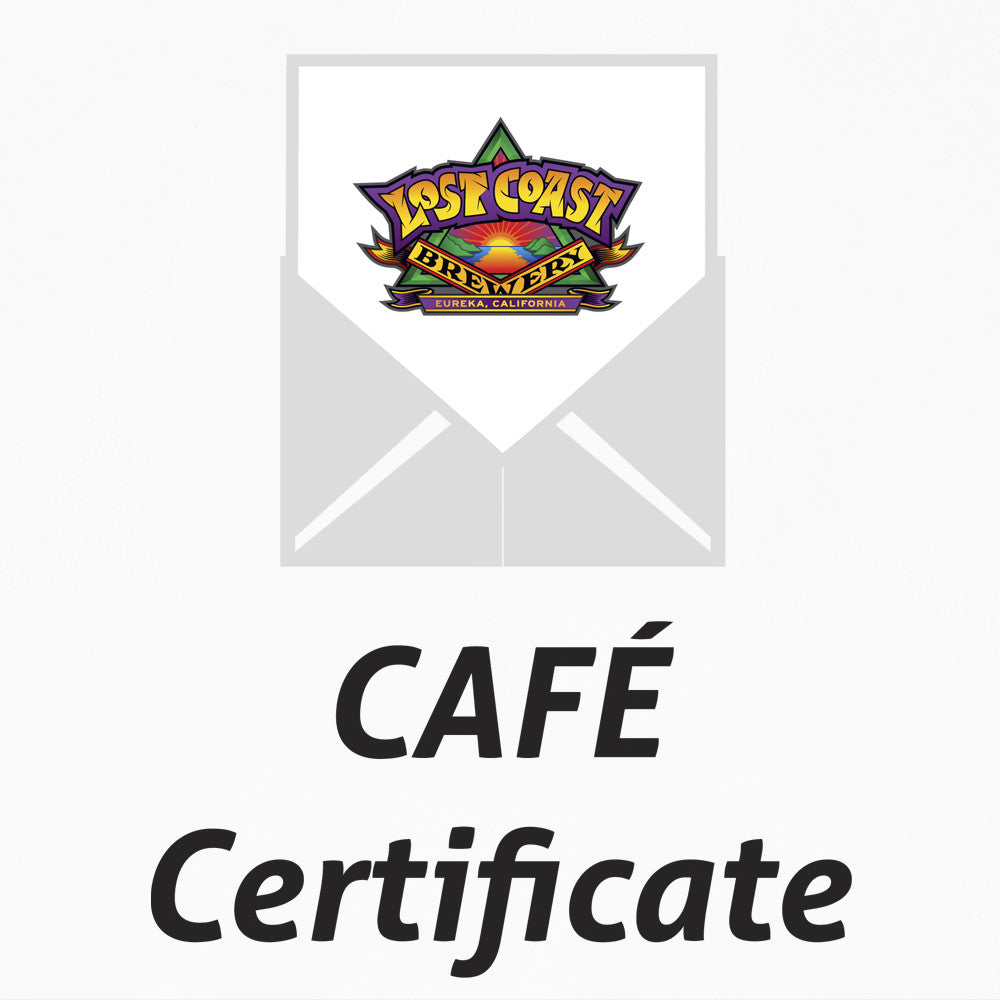 Cafe Gift Certificate!!