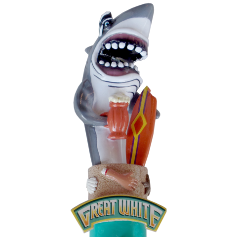 Great White Tap Handle