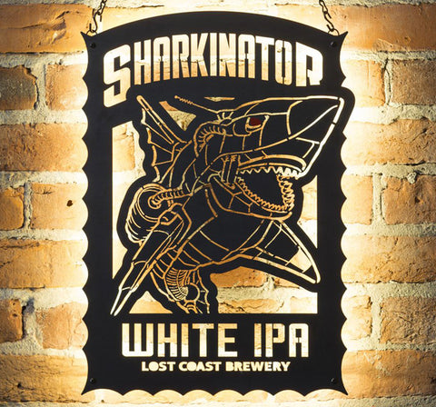 Sharkinator LED Sign