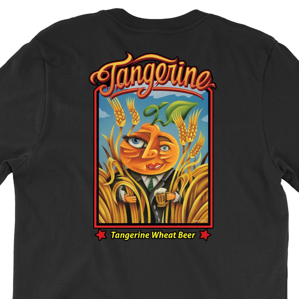Tangerine T Shirt Four Colors Lost Coast Brewery