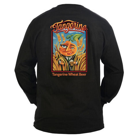 Tangerine Wheat Long-Sleeve Shirt