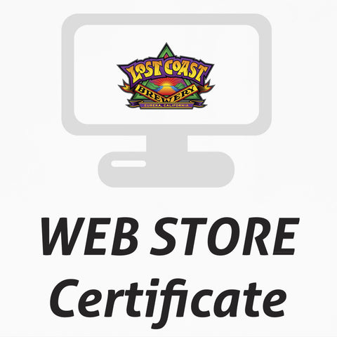 Gift Certificate for the WEBSTORE