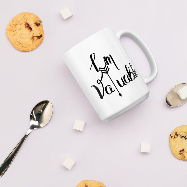 I'm Valuable Women's Empowerment Coffee Mug