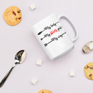 My Body, My Fitness Goals, My Way Women's Empowerment Coffee Mug