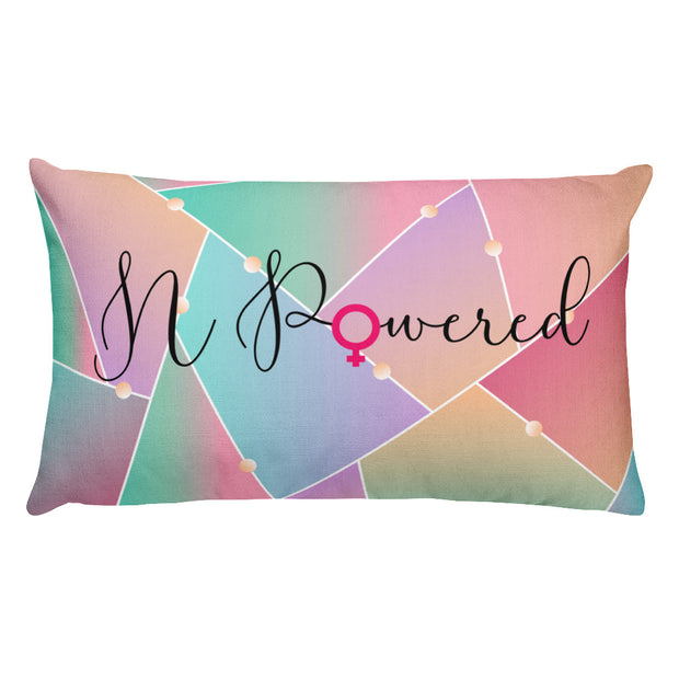 N-Powered  Women's Empowerment Pillow