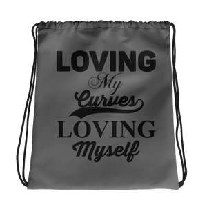 Loving My Curves Loving Myself Women's Fitness Gym Bag