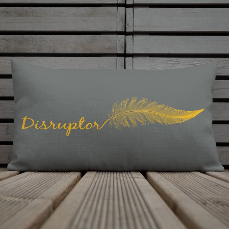 Disruptor Women's Empowerment Pillow