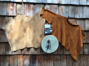 Leather drum 'blankie'