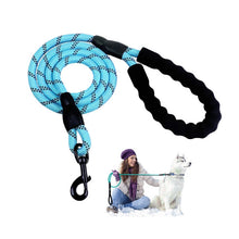 Load image into Gallery viewer, Premium Quality Nylon Reflective Dog Leash by Doggykingdom®