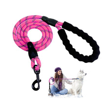 Preview Image: Premium Quality Nylon Reflective Dog Leash by Doggykingdom®