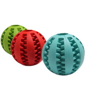 Doggykingdom® Tooth Cleaning Chew Dog Ball & Toy
