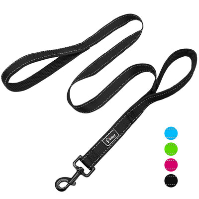 Double Handle Heavy Duty Dog Leash for Control/Safety/Training by Doggykingdom®