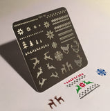 Stamping Plate - Christmas Sweater