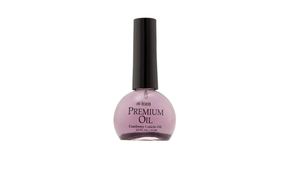 INM Premium Cuticle Oil - Cranberry