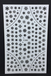 Snowflake Decals