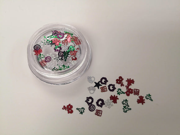 Inlay Christmas Sequins