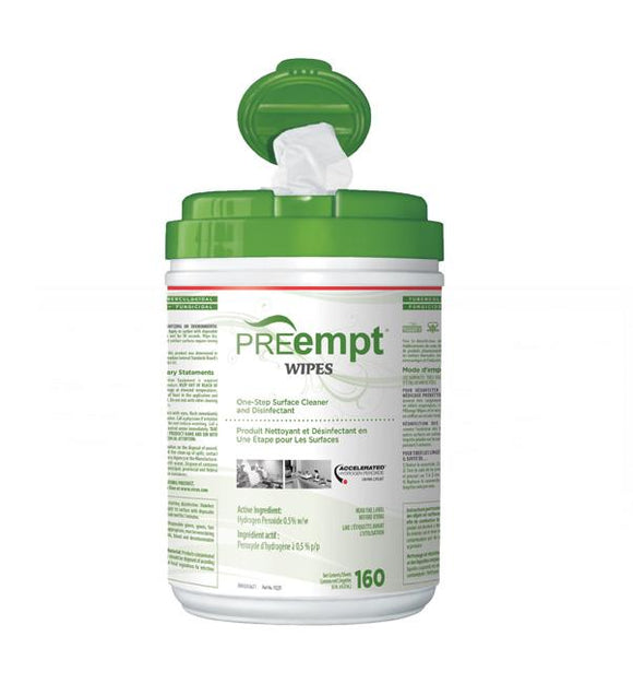 PREempt® Wipes (160 Wipes)