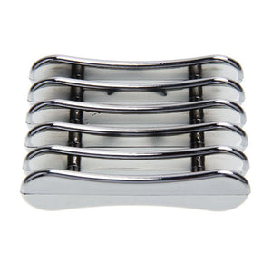 Brush holder silver