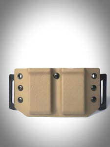 Double Pistol Magazine Carrier