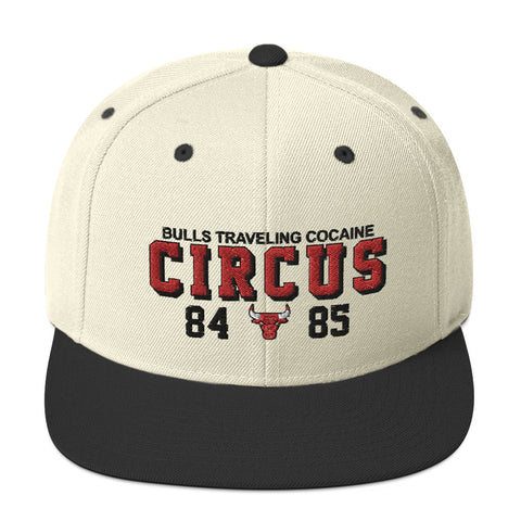 Bulls Traveling Cocaine Circus Snapback