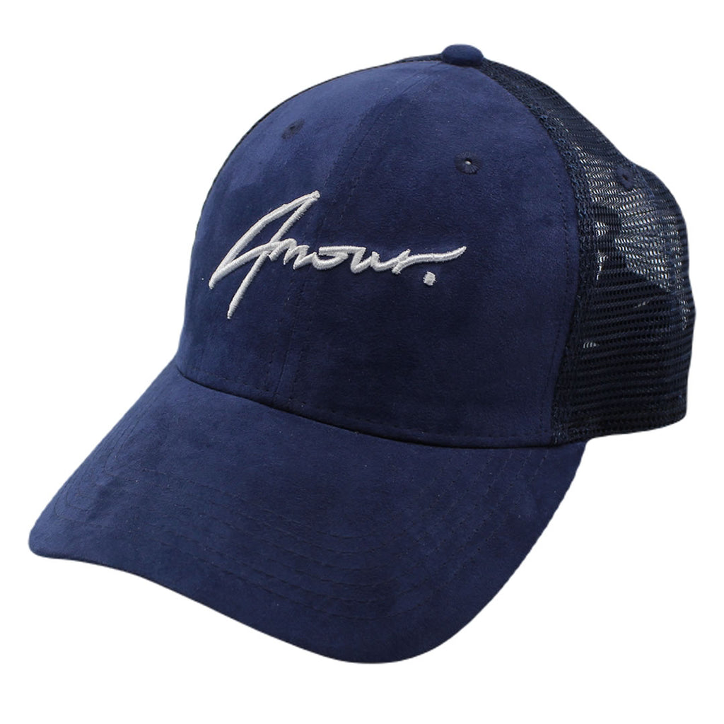 Amour Signature Suede Trucker Collection