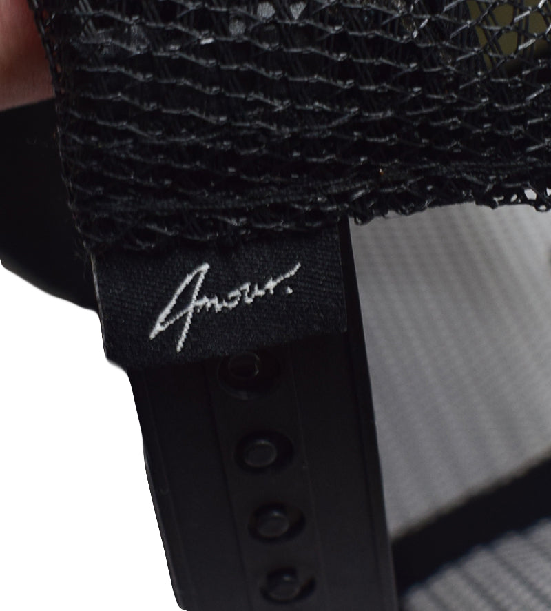 AMOUR Signature Suede Black Trucker