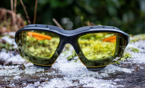 How can I benefit from wearing Safety Glasses in the winter?