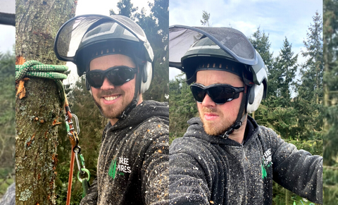 ToolFreak talk to UK based Arborist, Joe Shaw, on his use of Safety Glasses in the workplace!