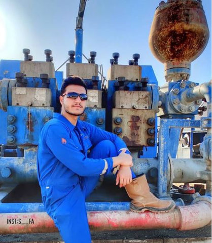Why should I wear Safety Glasses while working within the Gas & Oil Industry?