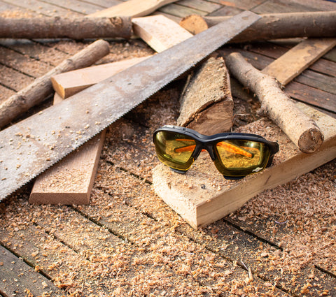 Why you should say YES to Yellow Lens Safety Glasses... ToolFreak Blog Post
