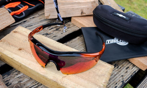 Can I stay safe and stylish simultaneously? Join us, ToolFreak, as we talk all about our insanely cool Reevo Red Mirror Safety Glasses!