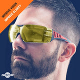 ToolFreak Rip-Out Protective Eyewear Yellow Lens