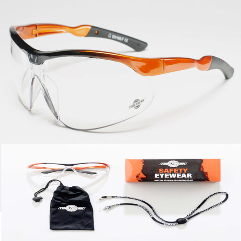 ToolFreak Agent Protective Eyewear Clear Lens