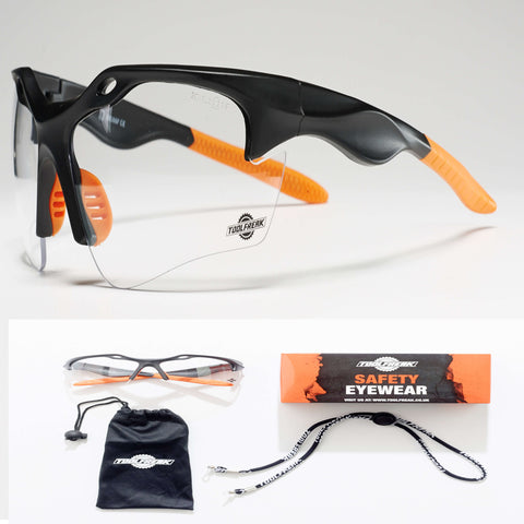 ToolFreak Finisher Protective Eyewear Clear Lens