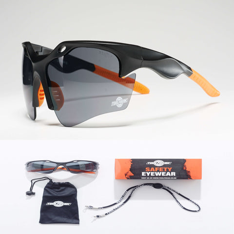 ToolFreak Finisher Protective Eyewear - Smoke Lens
